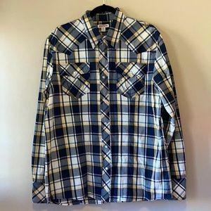 True Religion, NWOT Men's Western Snap Front Shirt